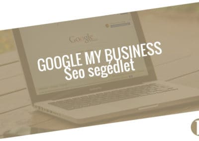 Google My Business - Google Cégem