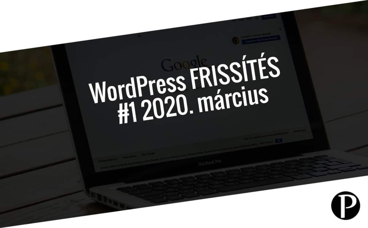 Havi jelentés a frissítést igénylő pluginekről - #1 2020. március