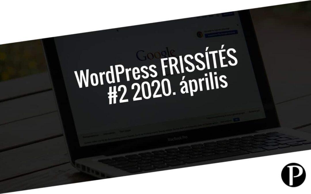 Havi jelentés a frissítést igénylő pluginekről – #2 2020. április