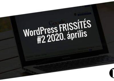 Havi jelentés a frissítést igénylő pluginekről - #2 2020. április