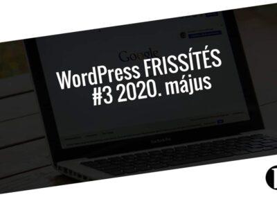 Havi jelentés a frissítést igénylő pluginekről - #3 2020. május