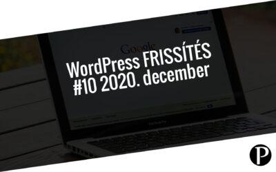Havi jelentés a frissítést igénylő pluginekről – #10 2020. december