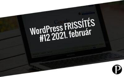 Havi jelentés a frissítést igénylő pluginekről – #12 2021. február